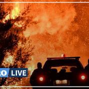 Grèce: les pompiers luttent pour le troisième jour contre un incendie près de Corinthe