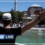 Turquie : Erdogan prie à Sainte-Sophie reconvertie en mosquée