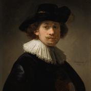 Un autoportrait de Rembrandt à 26 ans aux enchères à Londres