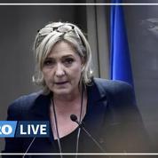 Insécurité: «la réponse du pouvoir est indigente», dénonce Marine Le Pen