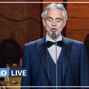 Andrea Bocelli remet en cause la gravité du Covid-19 et choque l'Italie