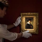 Un rare autoportrait de Rembrandt vendu 16 millions d'euros en 6 minutes