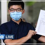 Hongkong : «Notre résistance se poursuivra», assure Joshua Wong
