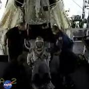 Retour sur Terre des deux astronautes américains à bord d'une capsule SpaceX