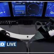 Space X : les deux astronautes américains entament leur retour sur Terre