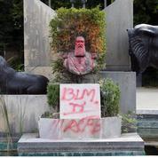 Belgique: un buste de l'ex-roi Leopold II à nouveau dégradé
