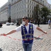 Ukraine: arrestation d'un preneur d'otage dans un centre d'affaires
