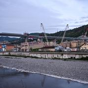 Nouveau pont de Gênes en Italie: l'avant et l'après en 15 photos