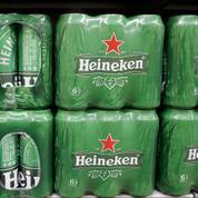 Le brasseur Heineken en grande difficulté au premier semestre