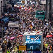 Allemagne: le gouvernement condamne des comportements «inacceptables» lors d'une manifestation à Berlin