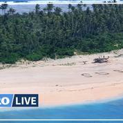 Pacifique: trois naufragés sauvés grâce à un «SOS» écrit sur la plage d'une île de Micronésie