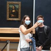Le Louvre au temps du coronavirus : quatre fois moins de visiteurs qu'habituellement en juillet
