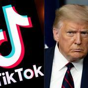 Trump signe l'arrêt qui bannira WeChat et TikTok dans 45 jours