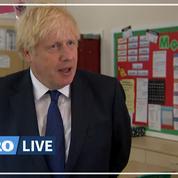 Boris Johnson s'en prend aux traversées illégales «stupides» de la Manche