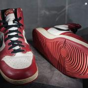 Une paire de Air Jordan 1 vendue 615.000 dollars, un record