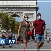 Coronavirus: à Paris, l'obligation du port du masque étendue, les rassemblements sous surveillance
