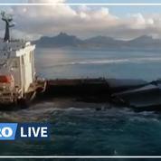 Marée noire à Maurice : la France redoute une pollution des plages à La Réunion