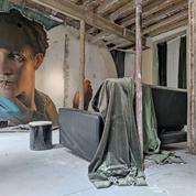 À Angers, une maison abandonnée se pare de street art