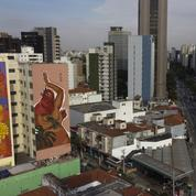 Le street art plus fort que le virus à Sao Paulo