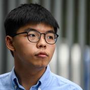Hongkong: Joshua Wong confie sa crainte d'être arrêté