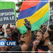 Maurice : manifestation historique contre le gouvernement après la marée noire