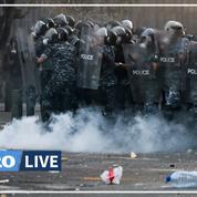 Liban: manifestation contre la «coopération» de Macron avec les dirigeants, heurts avec la police