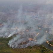 Brésil: légère baisse des incendies en Amazonie en août