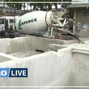 Lafarge accusé de déverser du béton dans la Seine en un deuxième lieu de Paris