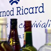 Pernod Ricard enregistre un bénéfice net 2019/20 en chute de 77%