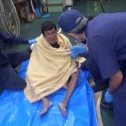 Cargo naufragé: un deuxième survivant retrouvé, 40 marins toujours disparus
