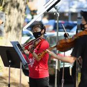 Le Philharmonique investit les rues de New York, pour exister malgré la pandémie