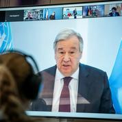 Sans union face au changement climatique, «nous sommes perdus», affirme le patron de l'ONU