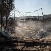 Incendie du camp de Lesbos : «La France prête à prendre sa part», selon Gabriel Attal
