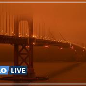 Ciel d'apocalypse à San Francisco à cause d'incendies historiques