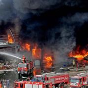 Incendie à Beyrouth : Greenpeace met en garde contre des particules «toxiques»