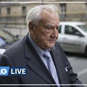 Christian Poncelet, ancien président du Sénat, est mort