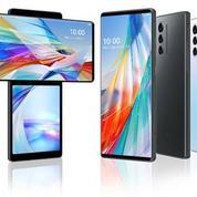 LG lance un smartphone à double écran rotatif