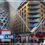 Liban : nouvel incendie au Souk de Beyrouth