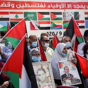 Palestine : manifestations contre les accords de normalisation