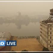 La fumée des incendies de l'Ouest américain arrive sur la côte Est