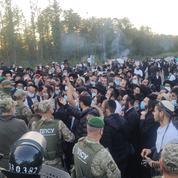 2000 pèlerins juifs bloqués à la frontière ukrainienne, Kiev accuse le Bélarus