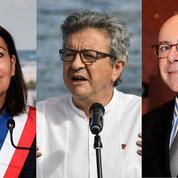 Présidentielle : Hidalgo, Cazeneuve et Mélenchon sont les plus à même de faire gagner la gauche, selon les Français