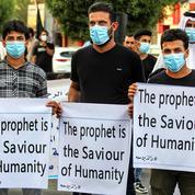 Caricatures de Mahomet : manifestation devant l'ambassade de France à Bagdad