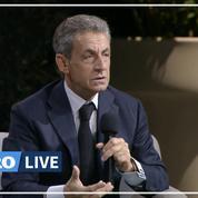 Nicolas Sarkozy charge les écologistes, «ceux qui défendent les crapauds à points jaunes et à pois bleus»