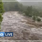 Orages et inondations : le Gard en alerte rouge, une femme portée disparue