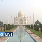 Le Taj Mahal rouvre en Inde malgré la flambée du virus