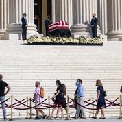 À Washington, hommages à la juge Ruth Bader Ginsburg avant la bataille politique
