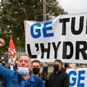 GE Belfort: 200 salariés ralentissent la sortie d'une turbine pour dénoncer «le carnage industriel»