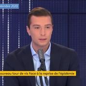 Jordan Bardella dénonce une mesure «brutale» et «injuste», après l'annonce de la fermeture des bars et restaurants à Marseille