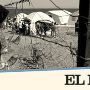 Grèce: la vie d'une famille afghane réfugiée à Lesbos tient dans un chariot